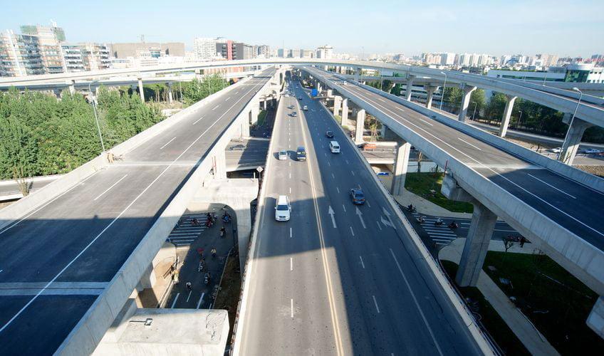 development of urban environment