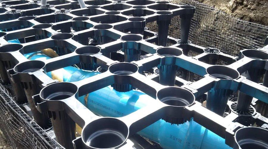 Stratavault installation in the city of Edmonton