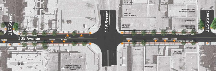 revitalization of Edmonton existing streets