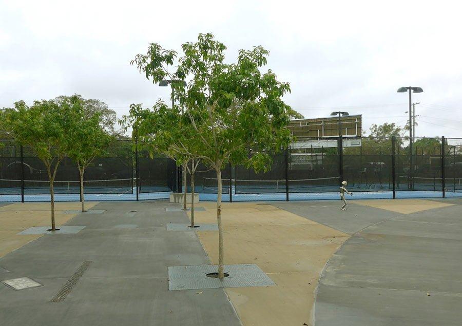 Frew Park Citygreen tree watering system