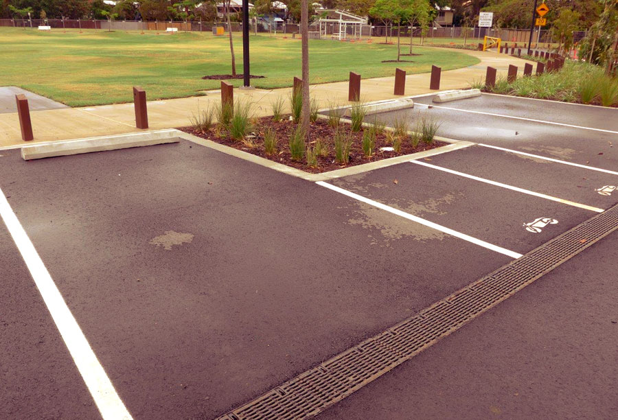 Frew Park thrives with water sensitive urban design