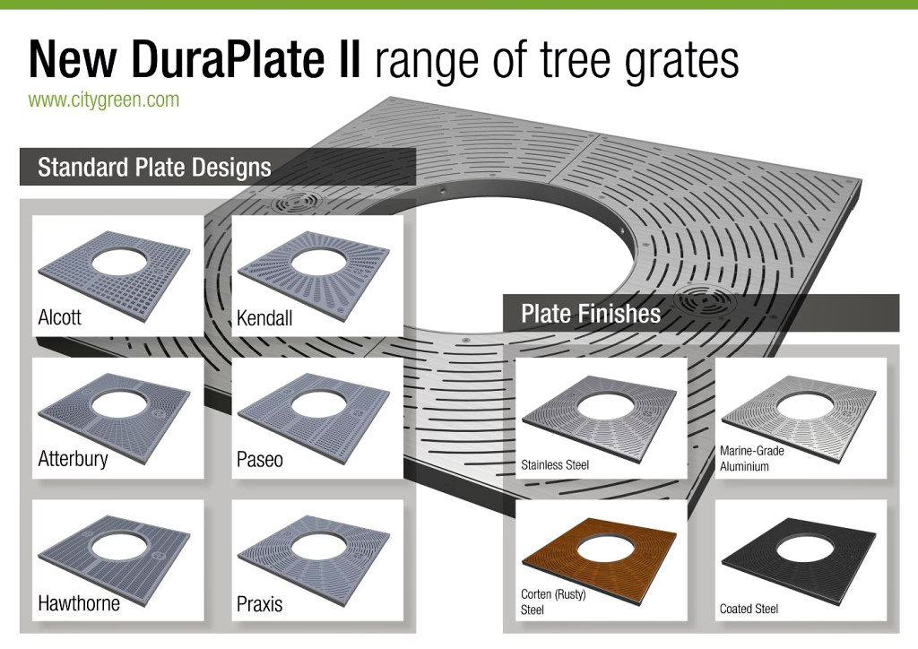 DuraPlate II Tree Grille