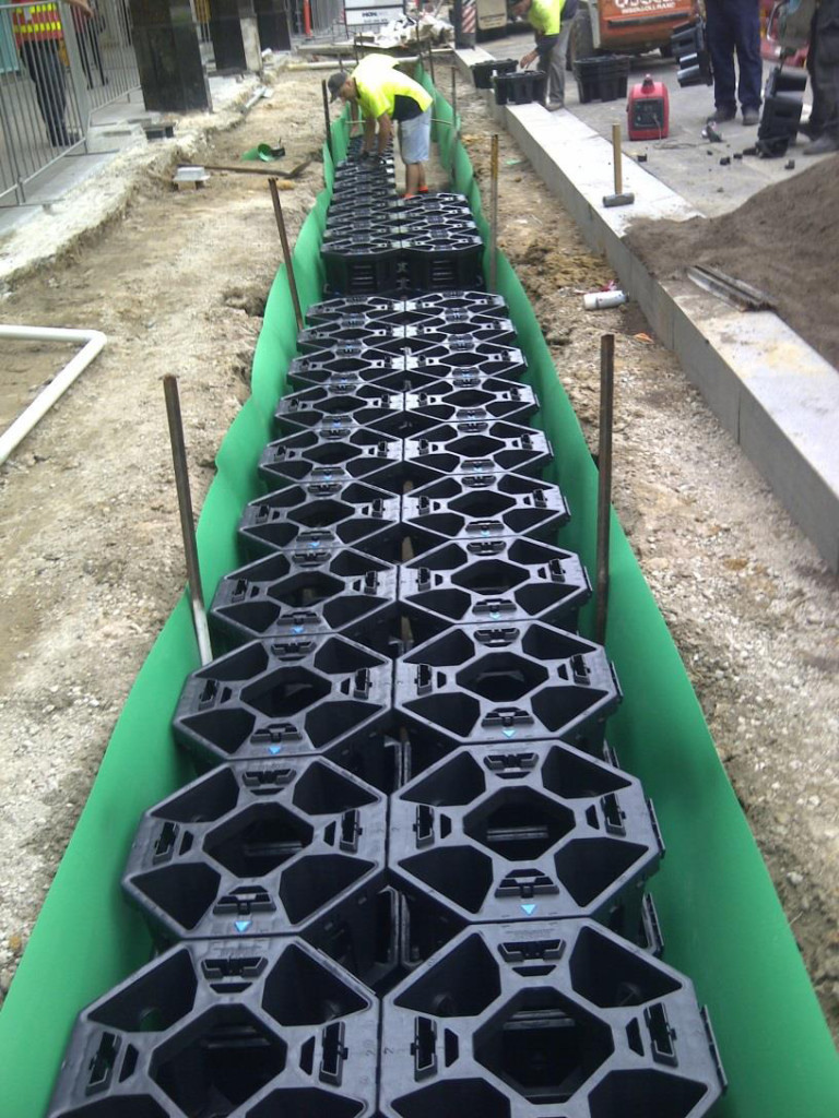 Stratacell system resolves pavement lift on Chapel Street