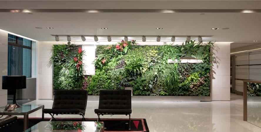Ronald Lu Partners Green Wall