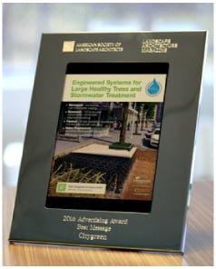 citygreen award sidebar