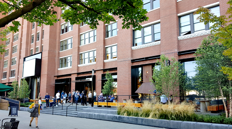 Starbucks Support Centre in Seattle