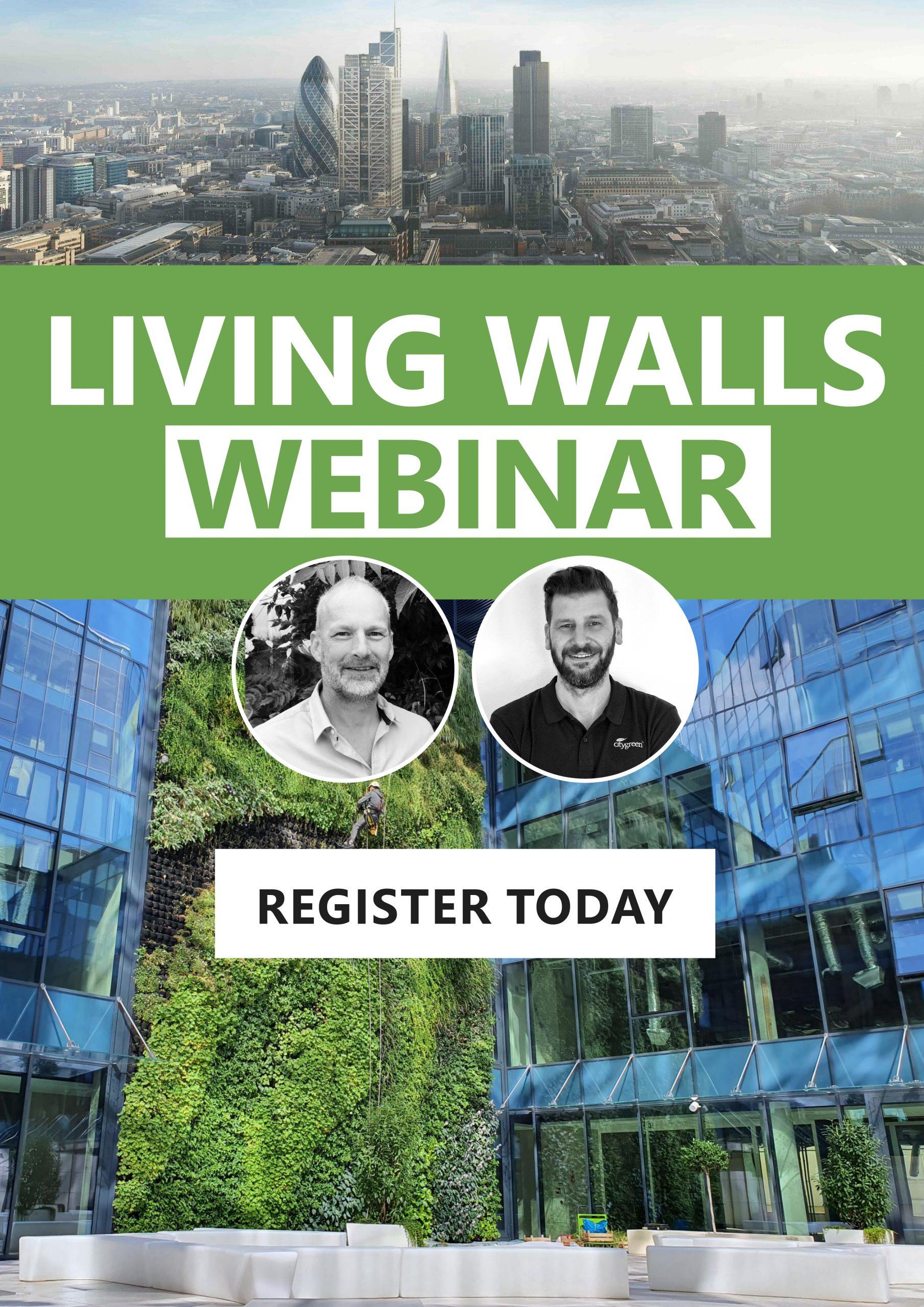 Webinar Green Living Walls